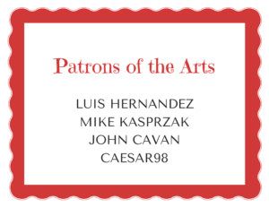 Patrons of the Arts